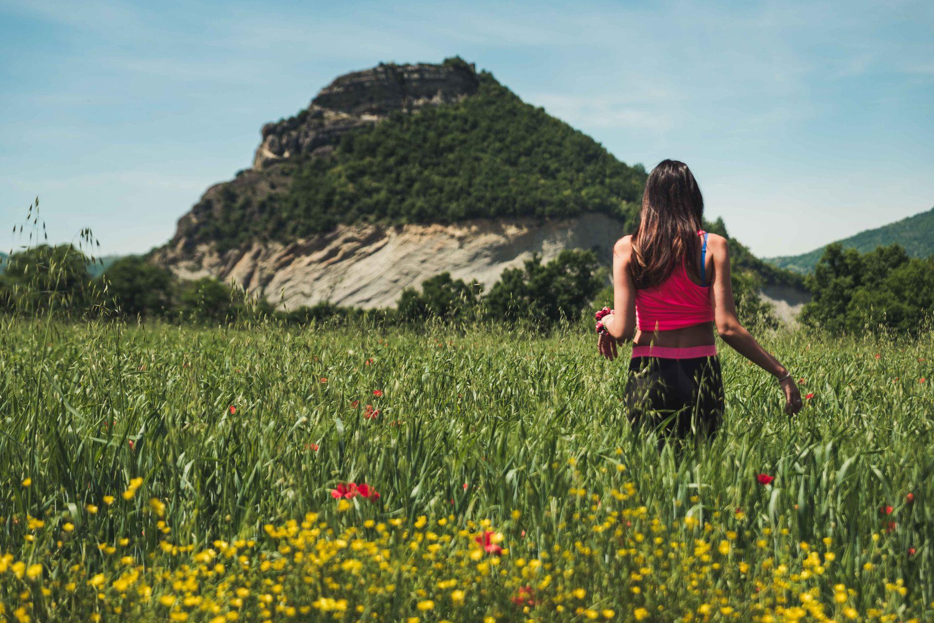 Trekking tra i fiori in Valmarecchia